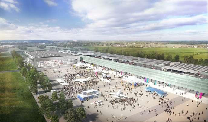 «Près de 220 millions d'euros de retombées économiques sont attendus pour la ville, ce qui devrait aussi contribuer à attirer de nouveaux habitants» (Photo: le futur parc des expositions de Toulouse).