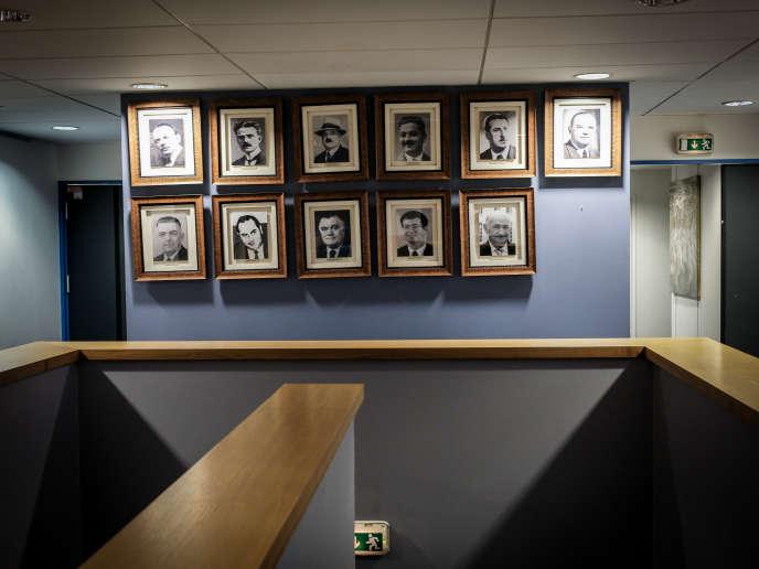 Le portrait du nouveau président de la fédération devrait bientôt rejoindre ceux de ses prédécesseurs accrochés au Centre national du rugby, à Marcoussis (Essonne).