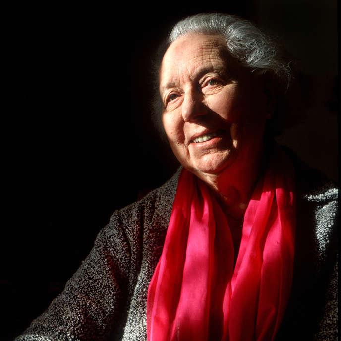 Anne Perrier, en 2001.