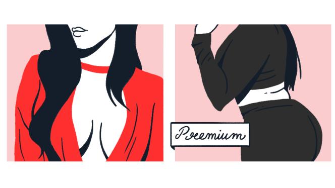 Illustration d'une annonce de prostitution sur Vivastreet.