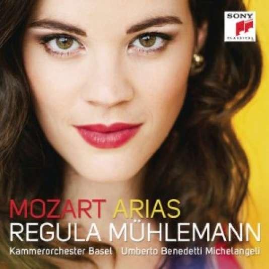 Pochette du CDMozart, Arias par Regula Mühlemann.