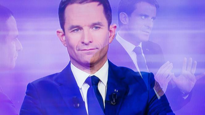Benoît Hamon lors du débat de mercredi.