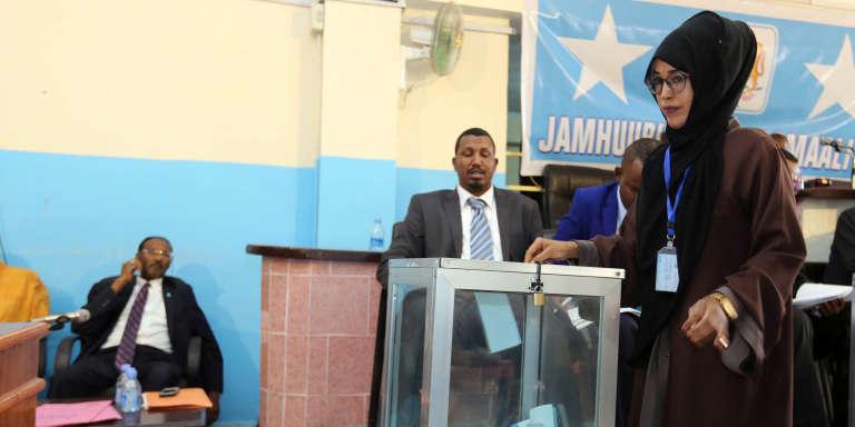 L'élection du président du Parlement somalien, le 11 janvier 2017.