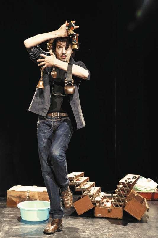 Pierre Louis-Calixte dans« Le Bruiteur», au Studio-Théâtre du 2 au 12 février.
