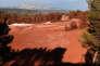 La décharge de Mangegarri à Gardanne où la société Alteo stocke les déchets générés par la fabrication d'alumine calcinée, le 21 septembre.