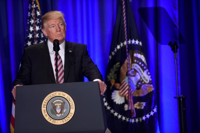 Le président américain Donald Trump, le 26 janvier 2017.