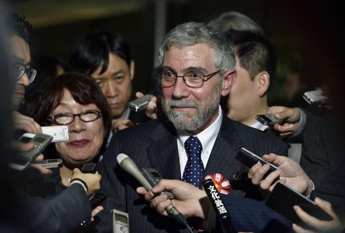 Paul Krugman, à Tokyo, le 22 mars 2016.