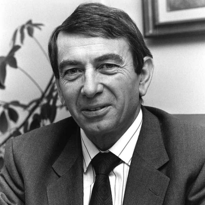 Jacques Moreau en 1988.