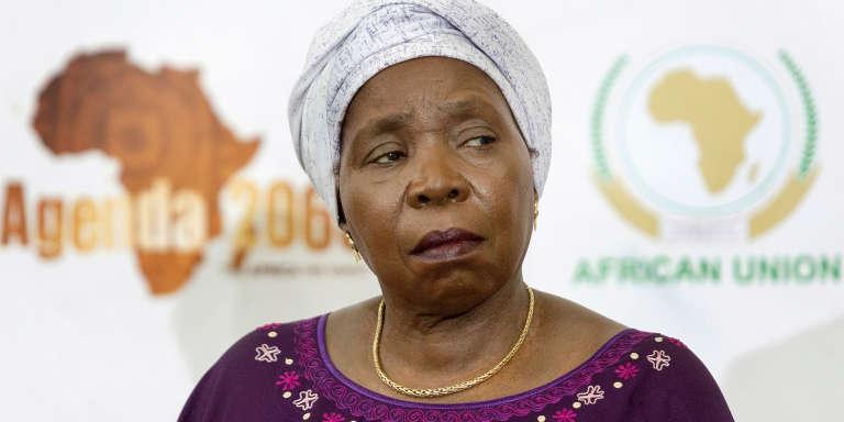 La présidente de la Commission de l'Union africaine, Nkosazana Dlamini-Zuma à Durban, le 19 décembre 2016.