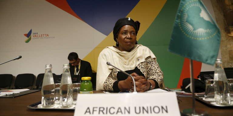 La présidente de la Commission de l'Union africaine Nkosazana Dlamini-Zuma, en novembre 2015.