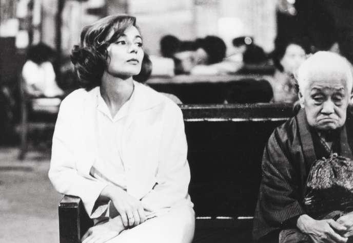 Emmanuelle Riva dans«Hiroshima Mon Amour» (1959).