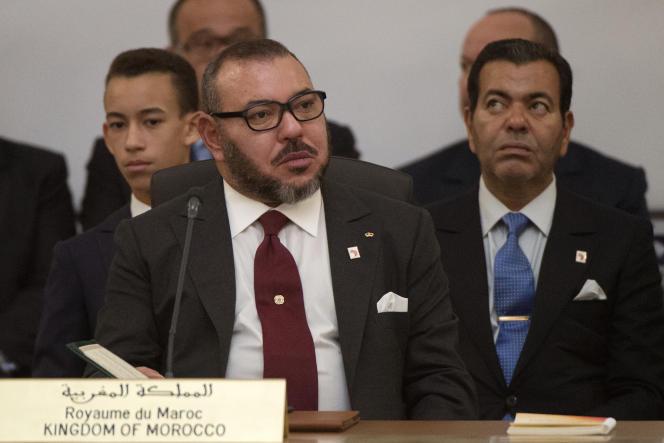 Le roi du Maroc, Mohamed VI, le 16 novembre 2016.