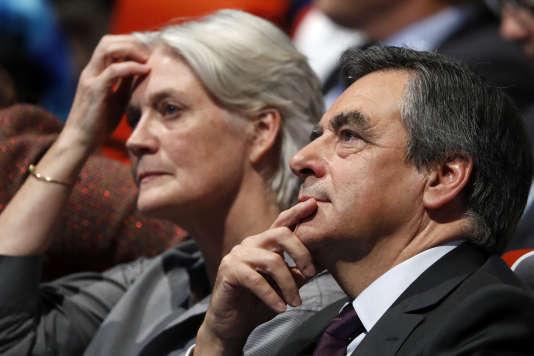 Penelope et Francois Fillon, le 18 novembre 2016.