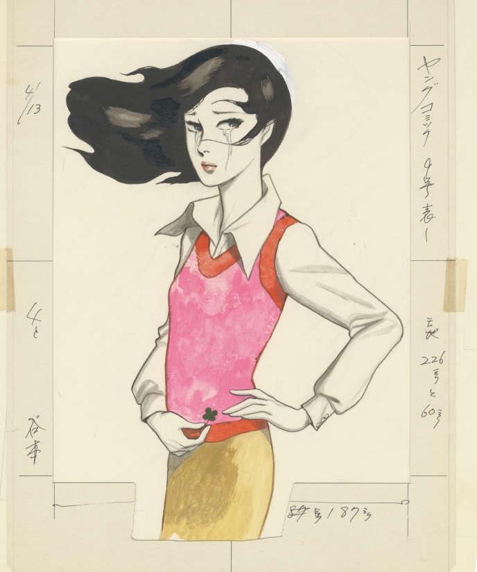 Dessin de mode de Kazuo Kamimura.