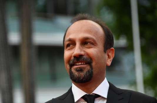 Le réalisateur iranien Asghar Farhadi, lors du 69e festival de Cannes, le 22 mai 2017.