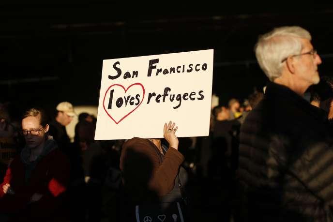 A San Francisco, le 28 janvier.