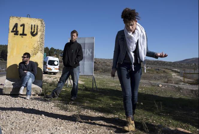 Les anciens appelés Dean Issacharoff, Uri Erez et Frima Bubis (de gauche à droite) ont rejoint Rompre le silence pour témoigner sur leur rôle en Cisjordanie.