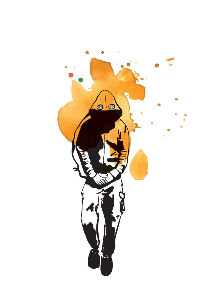 Le «bonnet infrarouge» imaginé par Geoffrey Dorne.