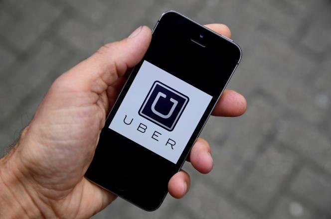 L'application Uber.