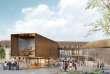 La future Cité Internationale de la gastronomie et du vin, à Dijon, qui ouvrira ses portes dans le centre-ville en 2019.