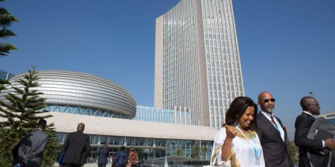 Le siège de l'Union africaine à Addis-Abeba, en Ethiopie, le 30 janvier 2017.