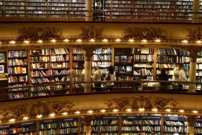 La librairie «El Ateno Grand Splendid», à Buenos Aires.