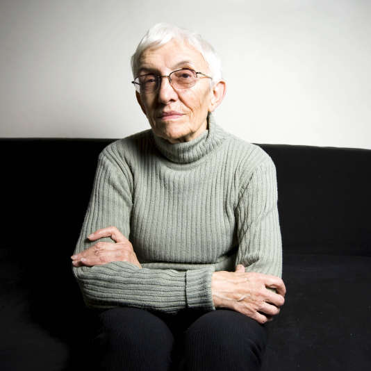 Annie Saumont, en 2008.
