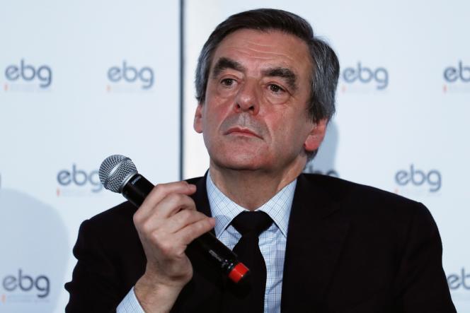 François Fillon lors d'un débat organisé par Electronic Business Group le 31 janvier.