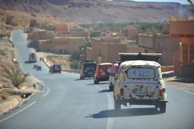L'arrivée au Maroc en février 2016.