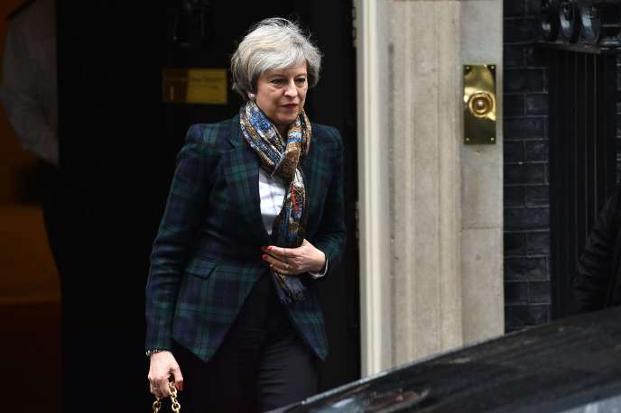 Theresa May quitte le 10 Downing Street le 31 janvier.