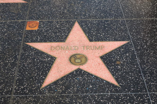 «La Chine est a priori moins vulnérable que le Mexique, mais toute mesure protectionniste contre la Chine aurait une portée plus forte, à la fois symboliquement et pratiquement» (Photo: « Walk of fame », Los Angeles, Hollywood Boulevard, octobre 2016).