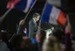 Pendant le discours de François Fillon lors de son meeting du 29 janvier 2017 à la Villette. Il est acclamé.