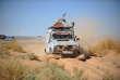 Le sable du désert sud-marocain, lors de l'édition 2016.
