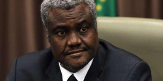 Le nouveau président de la Commission de l'Union africaine, Moussa Faki Mahamat.