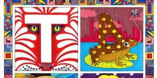 «T for Taipei», de l'illustrateurJim Stoten.