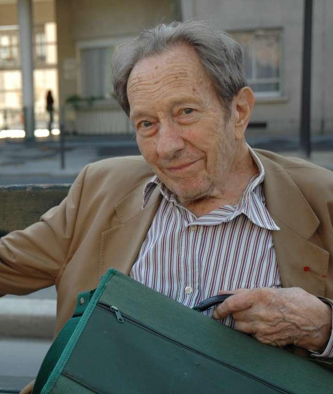 Roland Bechmann, en 2013.