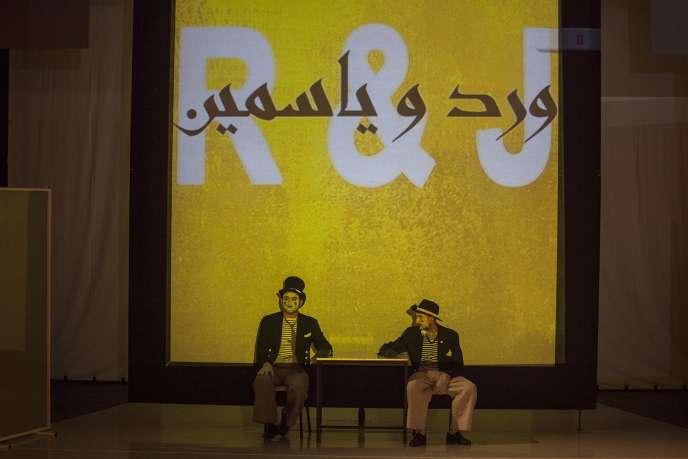 « Des roses et du jasmin » écrite et mise en scène par Adel Hakim.