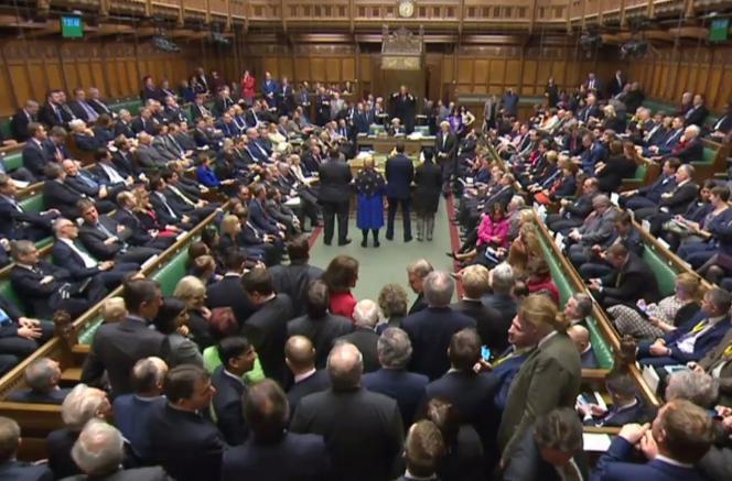 La poursuite de l'examen du projet de loi sur le Brexit a été approuvée le 1er février àla Chambre des communes, à Londres.