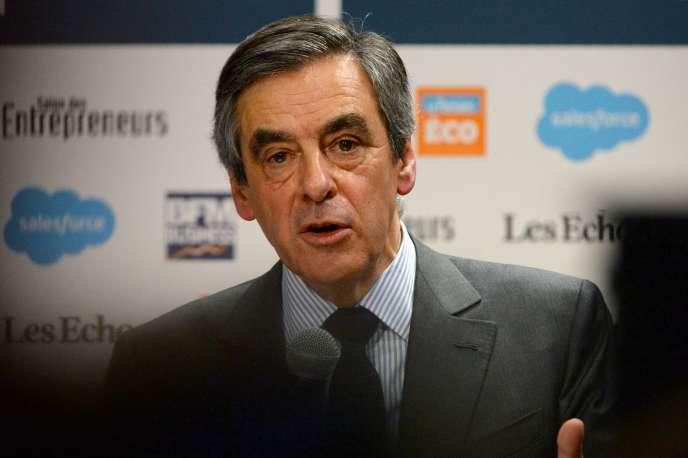 François Fillon, le 1er février, à Paris.