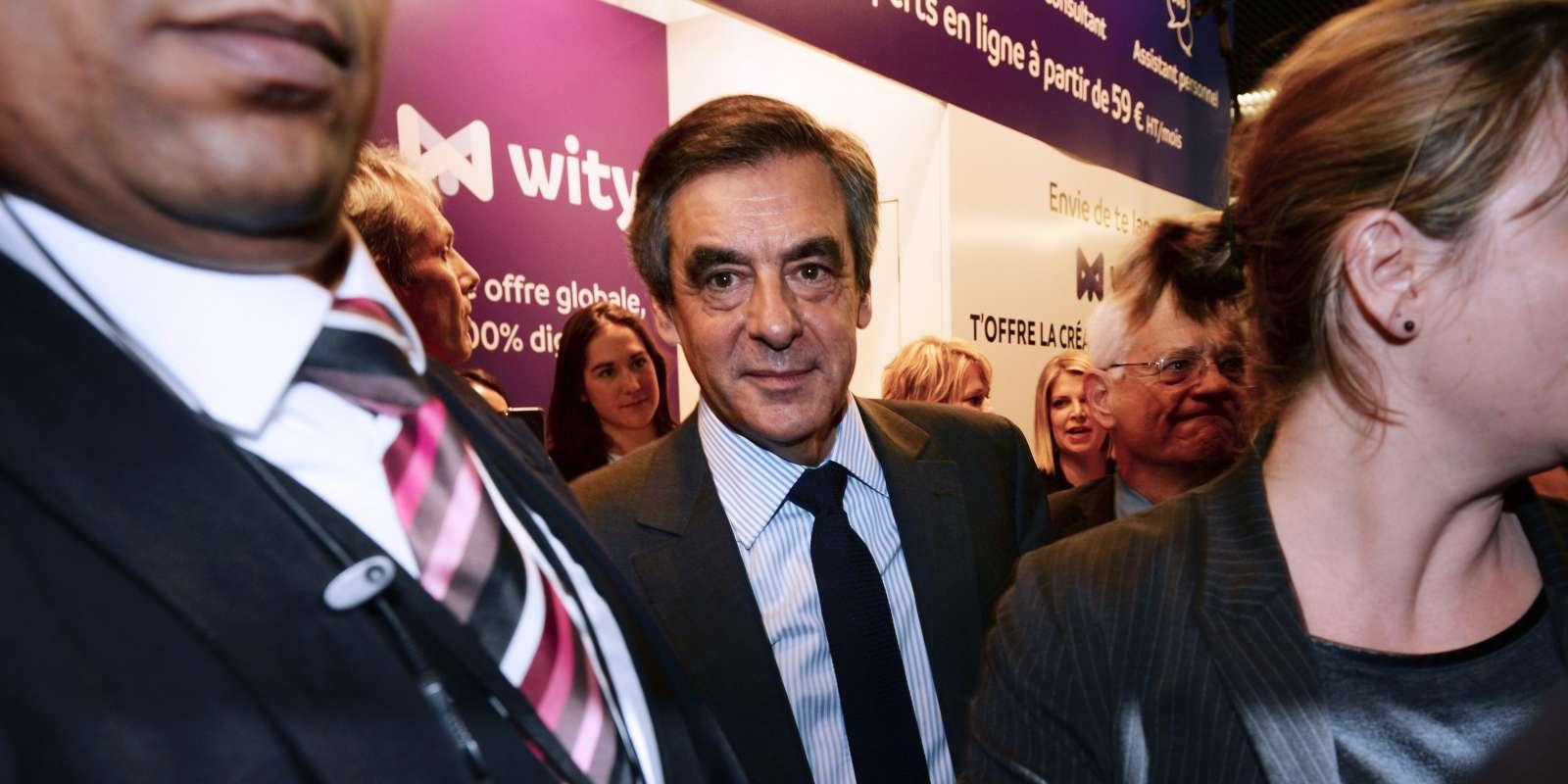Le 1er février au Salon des entrepreneurs à Paris.