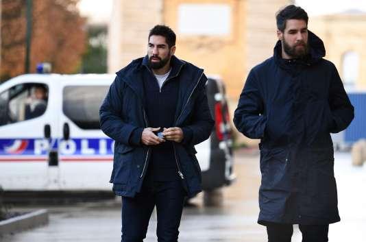 Nikola et Luka Karabatic, le 24 novembre 2016, à Montpellier.