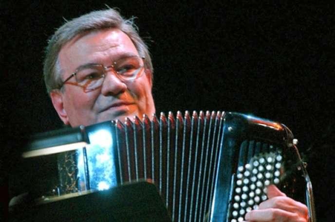 L'accordéoniste Marcel Azzola.