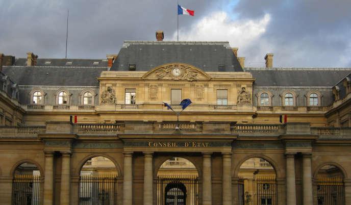 Façade du Conseil d'Etat, à Paris.