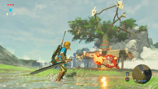 « The Legend of Zelda : Breath of the Wild », salué par la critique.