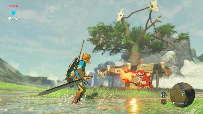 «Zelda : Breath of the Wild», le gros titre de lancement de la Switch - et le jeu du cygne de la Wii U.