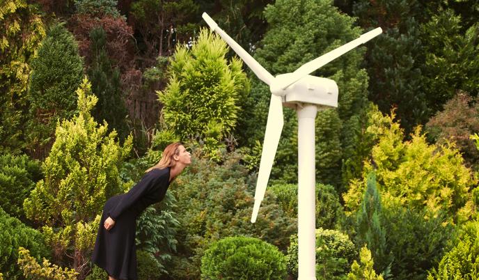 Campagnes de lutte contre la déforestation de la marque Stella McCartney en 2016.