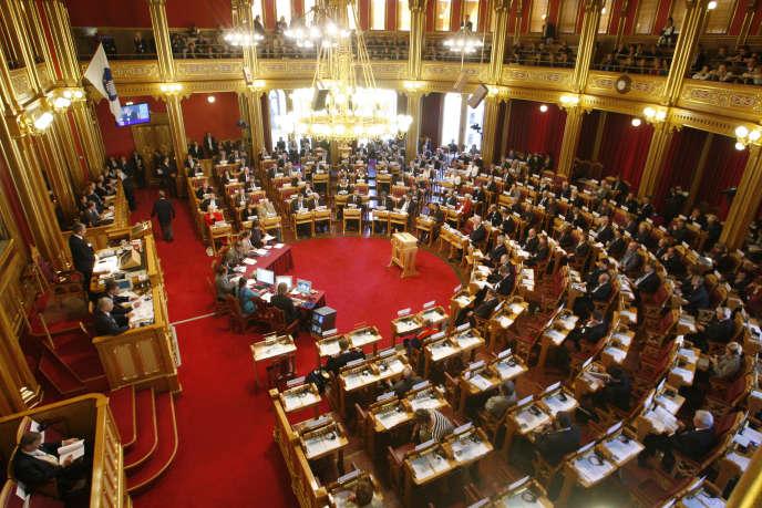 Le Storting, le Parlement norvégien (photo d'illustration).