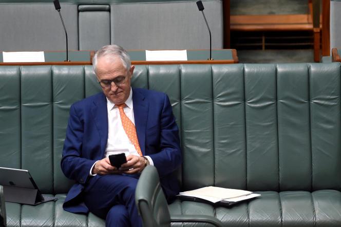 Le premier ministre australien Malcolm Turnbull à Canberra, en septembre 2016.