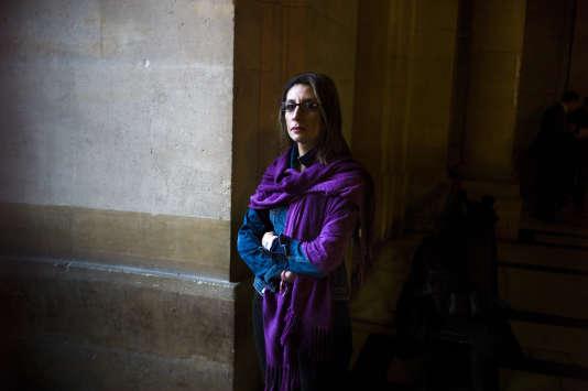 Nora Fraisse, la mère de Marion Fraisse, au tribunal, à Paris, le 14 novembre 2013.