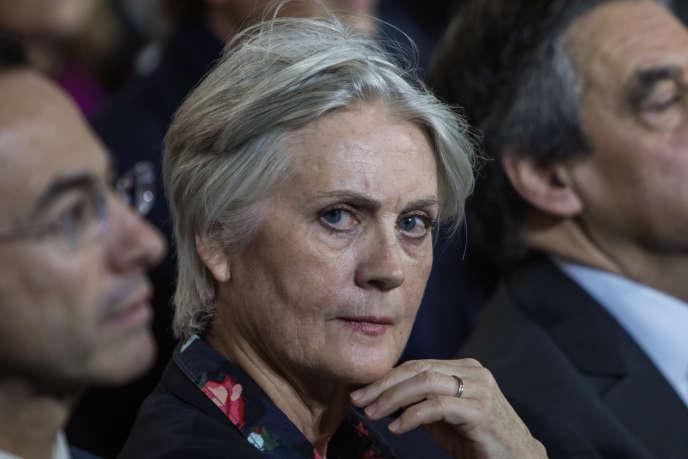 Penelope Fillon, pendant un meeting de François Fillon, le 30 janvier.